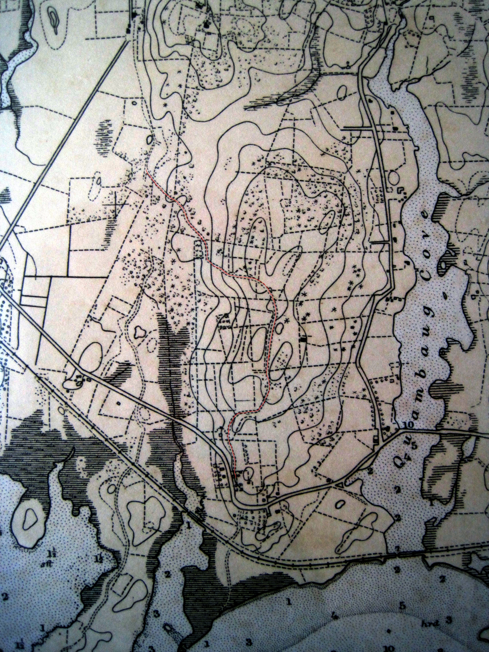 Quiambaugmistuxet valley a history of a valley and its two ridges the old mystic road from a 1932 chart of fishers island sound it is marked in red if this appears at too low a resolution on your monitor nvjuhfo Images